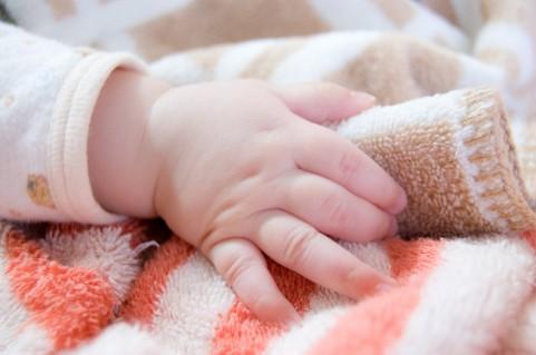 赤ちゃんの手2