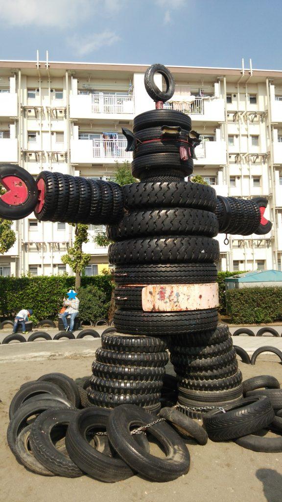 タイヤロボット