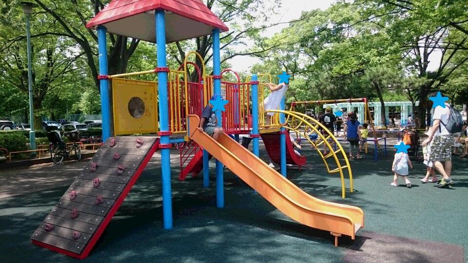 萩中公園遊具1