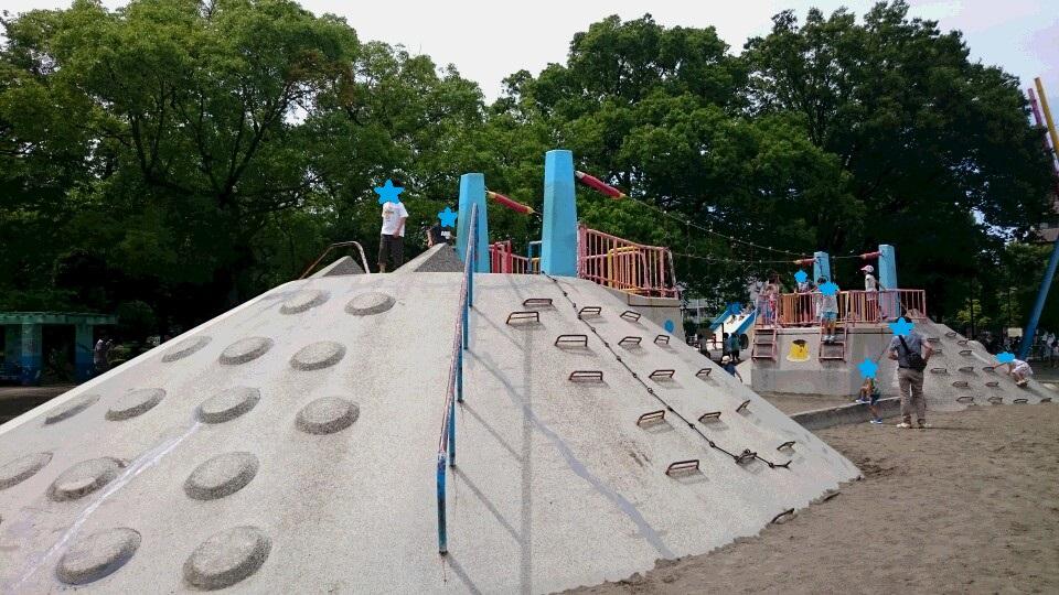 萩中公園遊具2