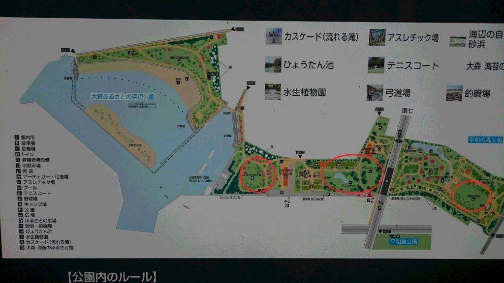 平和の森公園地図