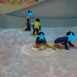 ナムコAsoMIX(ららぽーと海老名店)|海辺の砂浜で魚を捕まえる!?