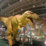 ギガ恐竜展覧2017|動く巨大恐竜の迫力(千葉県幕張メッセ)